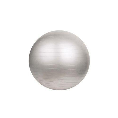 DUVLAN Gimnasztikai Labda Pumpával Max. 200 kg 55cm ezüst (fitness labda, fitball labda)
