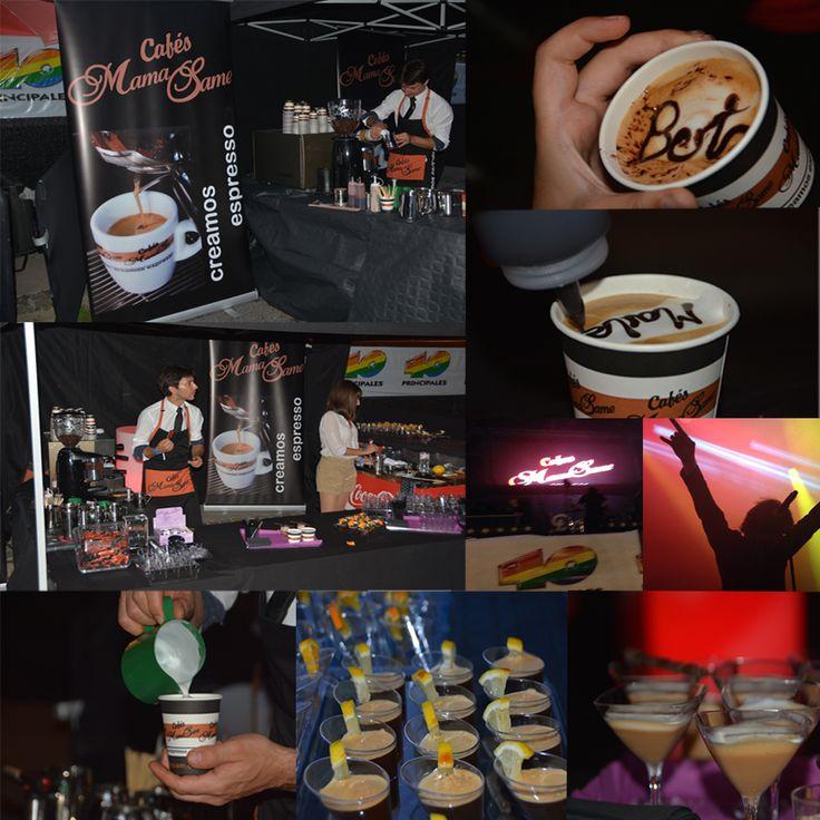 ¡Buenos días CAFÉ-TÉ-TOS!  Aquí os dejamos unas fotos de #laMerce2014 en el concierto #los40principales dónde estuvimos haciendo cafés y combinados de café en la zona VIP ;)