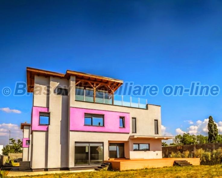 Braşov Imobiliare : Inchiriere proprietate, vila cu arhitectura contem...