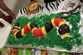 Coral Snake Cake, Wild Kratts