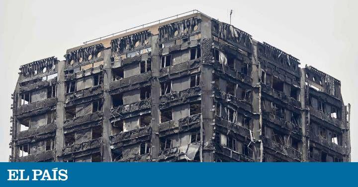Un frigorífico el origen del incendio de la torre Grenfell de Londres El revestimiento exterior del edificio no ha superado las pruebas de seguridad