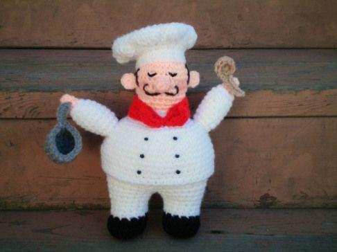 Free Crochet Chef Pattern