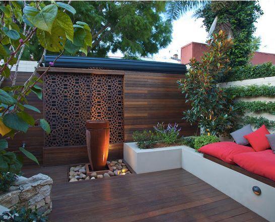 Jardines modernos  Jardines ideas y tips  Pinterest