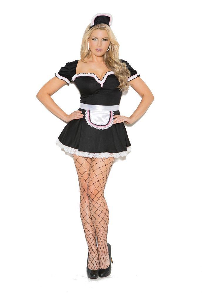 73e6cac9813 Maid To Please 3 pc. Plus Size Costume #9132X Elegant Moments SIZE ...