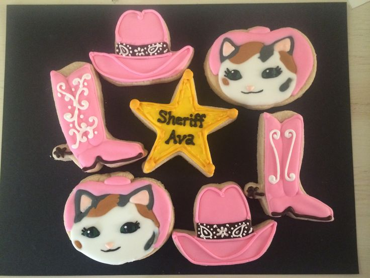 Sheriff Callie Cookies Cake Decorating Pinterest