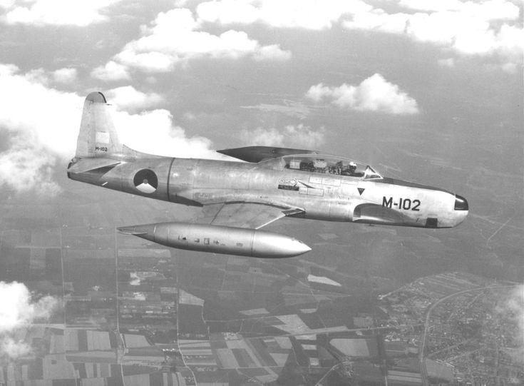 "Royal Netherlands Air Force Lockheed T33 ""Shooting Star"""