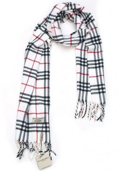 For me! 80-90% off Burberry scarves.