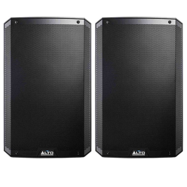 Alto Professional TS215 15 1100 Watt Active/Powered DJ Speaker Pair Open Box