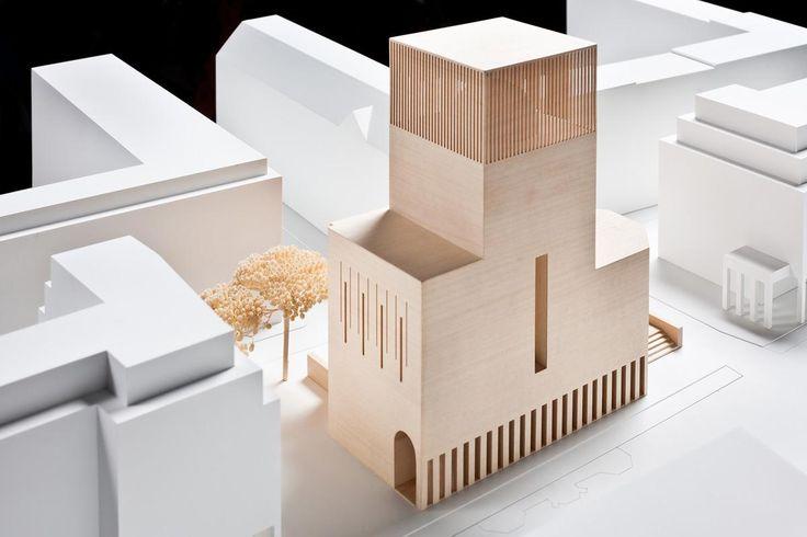 Bet- und Lehrhaus Petriplatz in Berlin by Kuehn Malvezzi