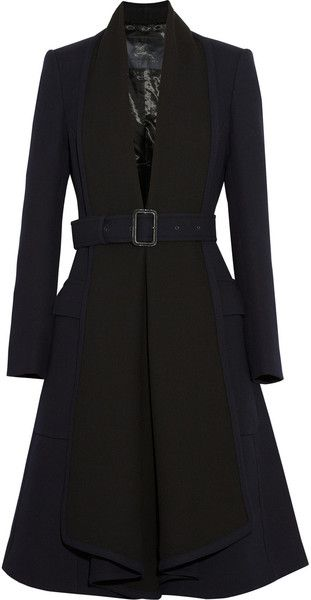BURBERRY Wool Crepe Coat