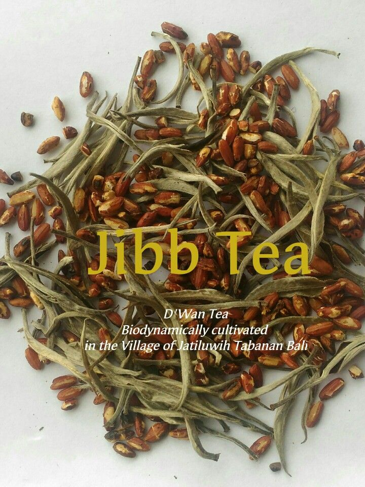 White tea + jatiluwih organic Red rice Bali