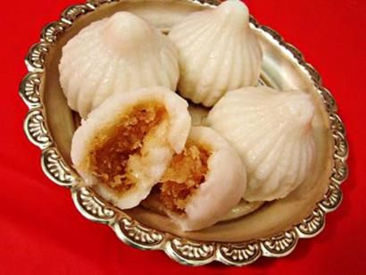 Stuffed Rice Modak Recipe