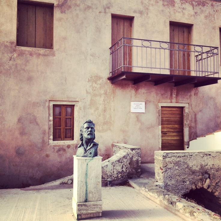 Monemvasia Greece, poet's Ritsos House