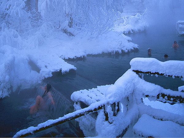 """On National Geographic Travel's list of Canada's Top 50 Places of a Lifetime: """"Liard River Hot Springs #Canada50 #ExploreCanada"""" #ExploreBC"""