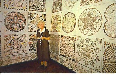 Mrs. Werther of Dover, Ohio, collected more than 100,000 buttons in her lifetime, none of them alike!