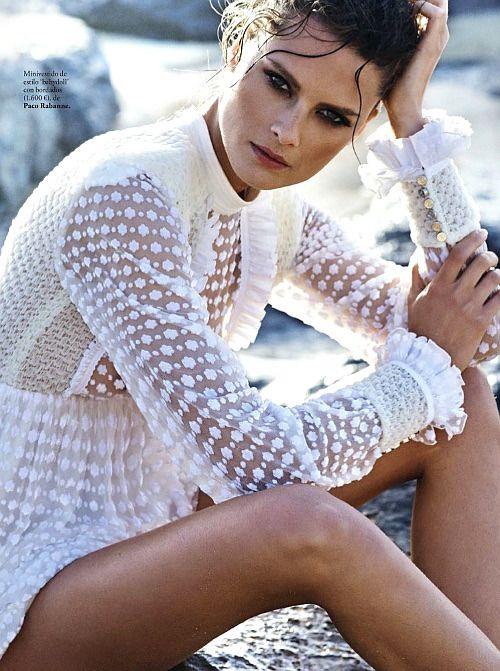 she-loves-fashion:     Elena Melnik Elle Spain May 2017