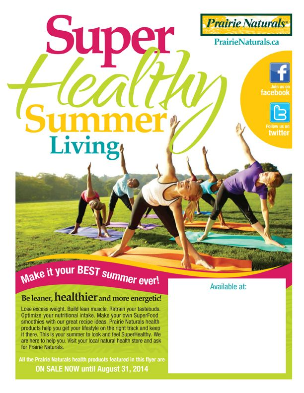 Healthy Summer Living!