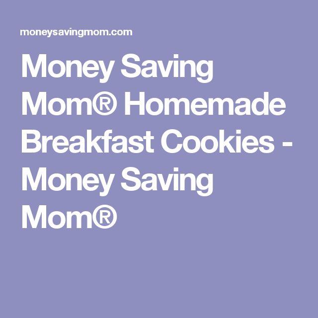 Money Saving Mom® Homemade Breakfast Cookies - Money Saving Mom®