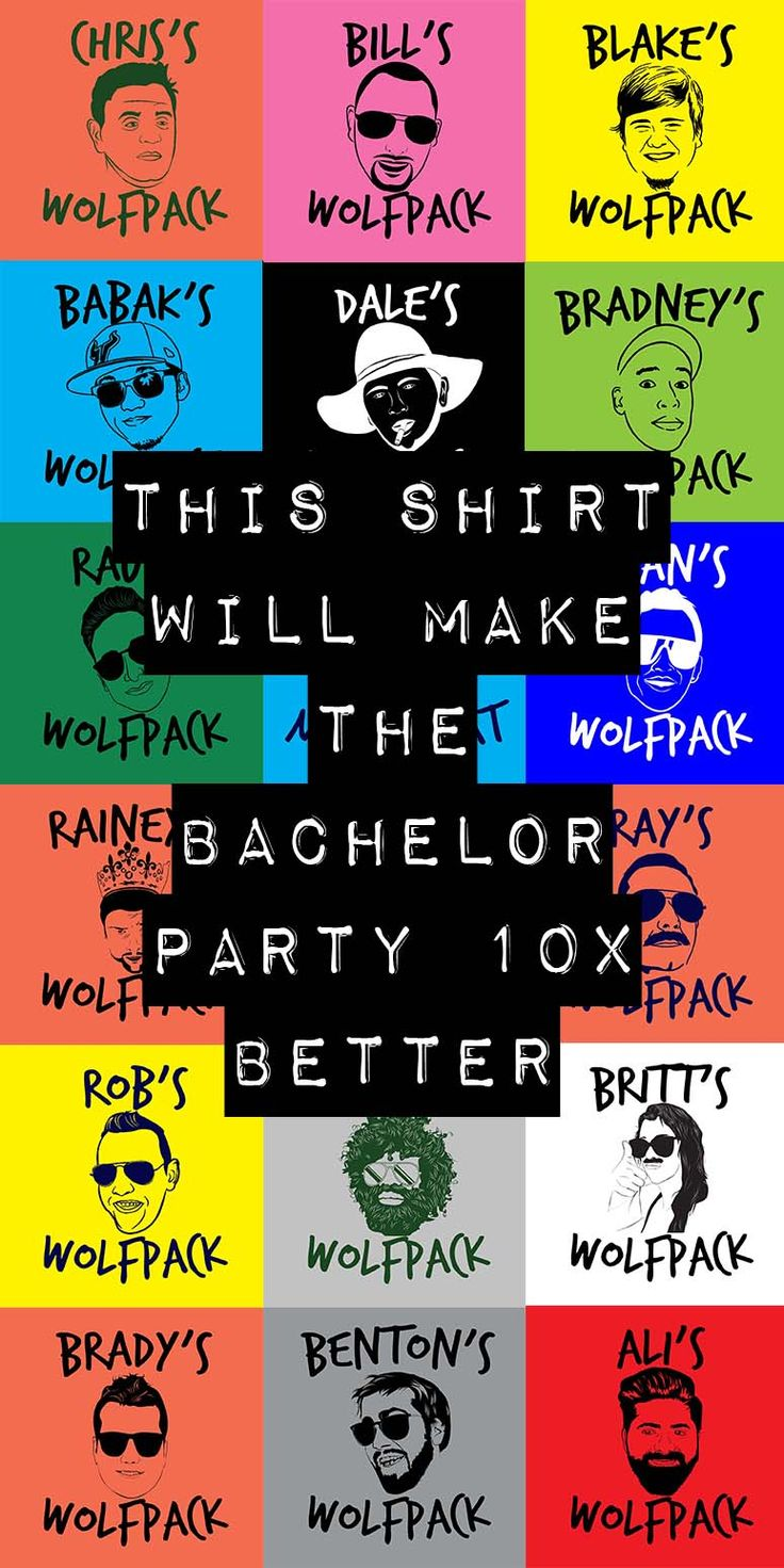 This Tee Makes the Bachelor Party 10x Better.  But how could someone make a bachelor party any better?  What could better than getting together with your best bros and sending off your favorite groom in style?  There are thousands of articles out there about how to plan a bachelor party, what makes a bachelor party successful, and the best ideas for bachelor party locations. But this tee makes the bachelor party 10x better.