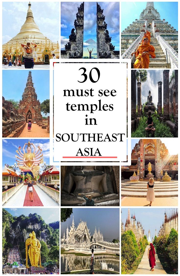 Southeast Asia Temples