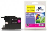JetTec Brother LC-1280MXL Magenta Remanufactured Ink The Brother LC-1280MXL Magenta remanufactured Ink Cartridge by JetTec - B1280MXL is a JetTec branded remanufactured printer ink cartridge for Brother printers. They provide OEM style quality printing  http://www.MightGet.com/february-2017-3/jettec-brother-lc-1280mxl-magenta-remanufactured-ink.asp