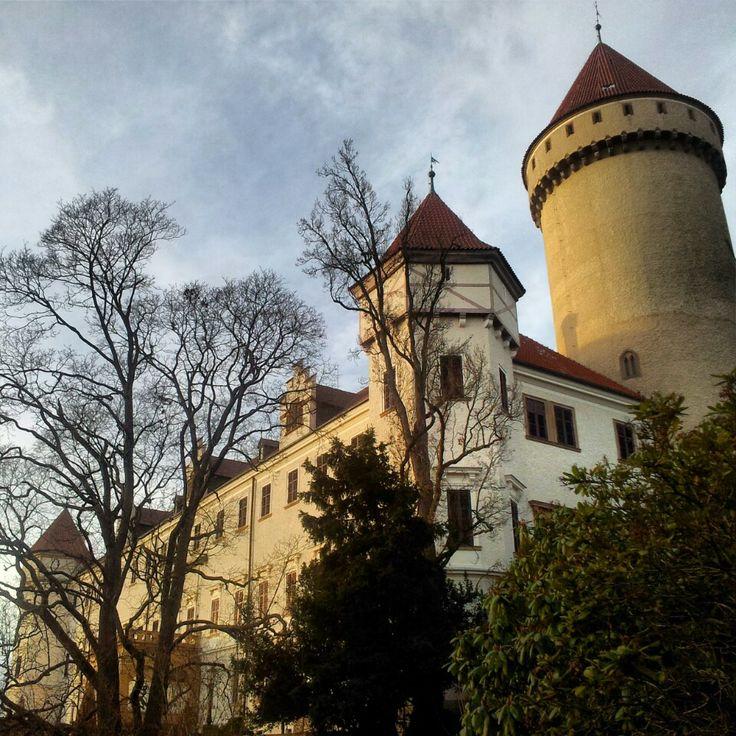 Zámek Konopiště   The Konopiste Castle