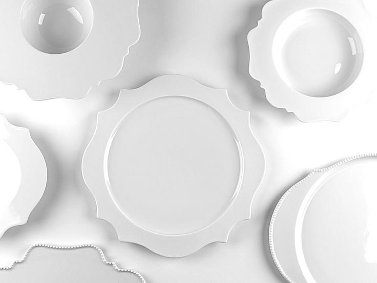 "Pure white porcelain collection ""Taste"" | porcelain . Porzellan . porcelaine | Design: Paola Navona @ Porzellanmanufaktur Reichenbach |"