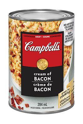 Mac n cheese avec la Soupe condensée Crème de bacon, de CAMPBELL'S®