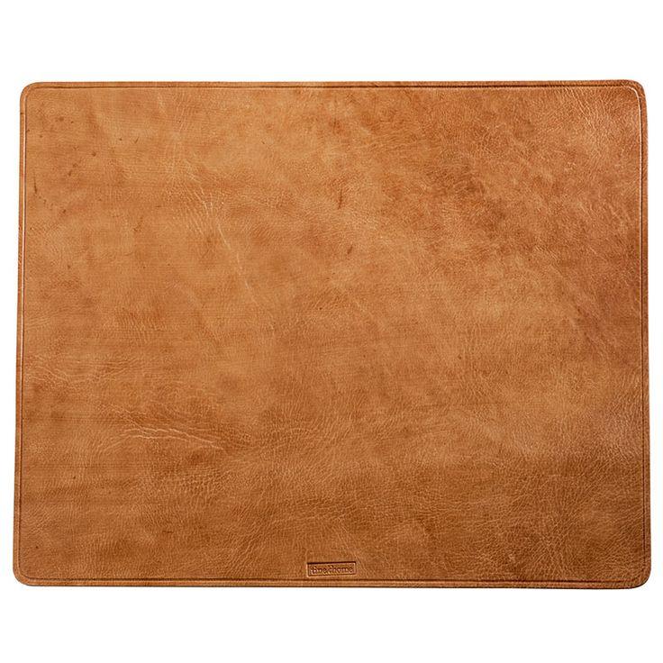 PLACDESK-BR2-rand.jpg - Skrivbordsunderlägg av läder Brunt - Heminredning på…
