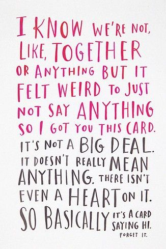 Emily Mcdowell From The Awkward Cards Collection Love Dating Valentines