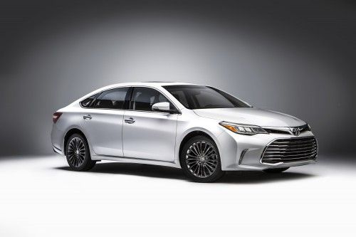 New Car Wallpaper - 2016 Toyota Avalon White