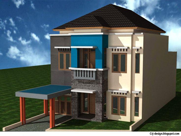 Rumah Minimalis 2 Lantai adalah salah satu trend desain yang sangat menjadi.  sumber : http://crj-design.blogspot.com/2014/10/inspirasi-desain-rumah-minimalis-2.html