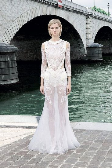 Fall 2011 Givenchy Couture #bridal #idea