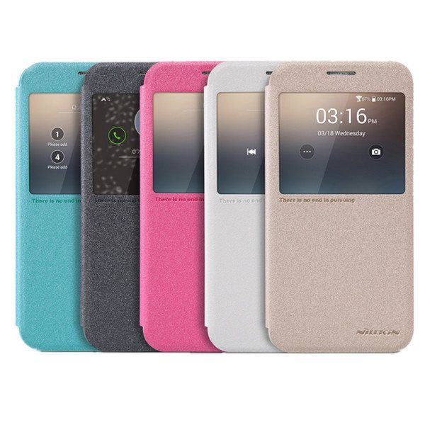 [US$7.29] NILLKIN Sparkle View Window Leather Case Cover For Samsung Galaxy S6 G920F  #case #cover #g920f #galaxy #leather #nillkin #samsung #sparkle #view #window