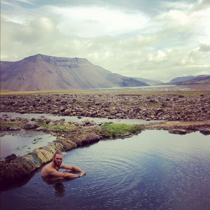 how to find hot springs in iceland