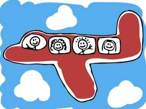 Kinderliedje met beeld: Ik zie een vliegtuig