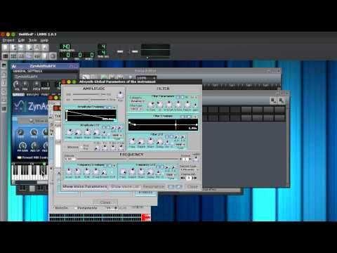 LMMS/ZynAddSubFx Pluck Synth Tutorial - YouTube