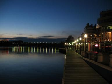 10 Washington, DC Restaurants with a Great View: Georgetown at Night