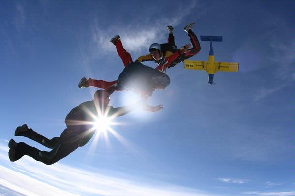 AFF (Accelerated Freefall) Body Flight Skydive, Nagambie- VIC