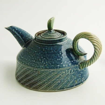 """Jan Hamlyn teapot, 1995 made for the 'Time for Tea"""" exhibition"""