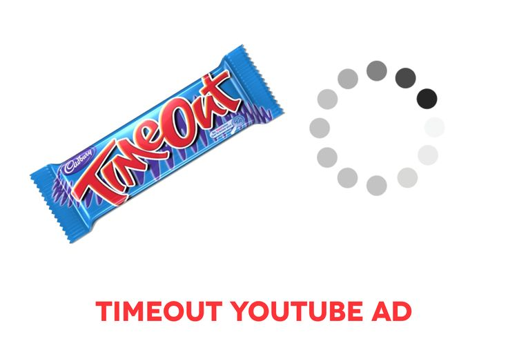 This idea initially came to me when watching an episode of Family Guy and the Mac loading wheel deliberately popped up on screen. They based an entire joke around that which I believed called to the new existing ways we view content online.  I wanted to devise a campaign around the ways we consume content online. I chose Timeout as the brand and thought I would use the loading symbol on YouTube to highlight how we have grown to expect things immediately.