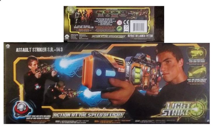 WowWee Light Strike Assault Striker S.R. 143 with Refractor Launch System #WowWee