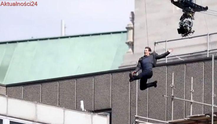 Tak wyglądał wypadek Toma Cruise'a. Gwiazdor złamał nogę