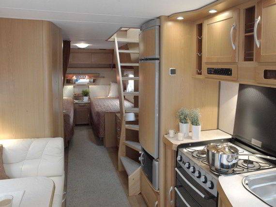 Two Story RV: A Travel Trailer with 2 Floors and Walk Out Balcony ...