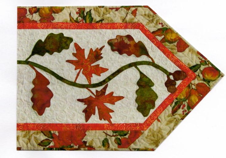 fall table runners with fall leaves images | Return to Home Page