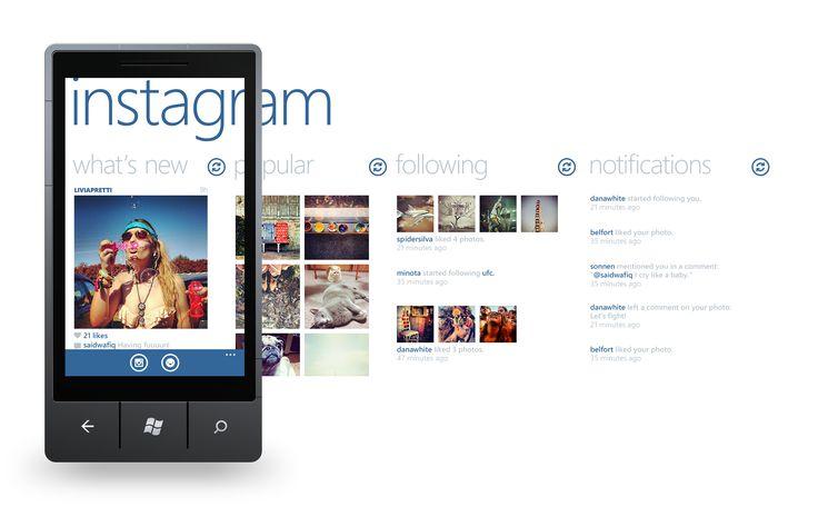 Metro UI -Instagram