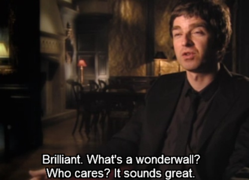 Noel Gallagher, so humble...