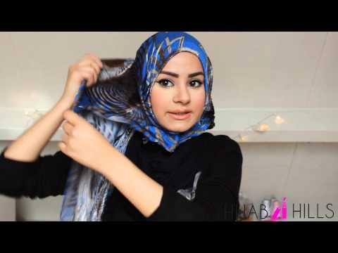 Simple Hijab Tutorial! - YouTube