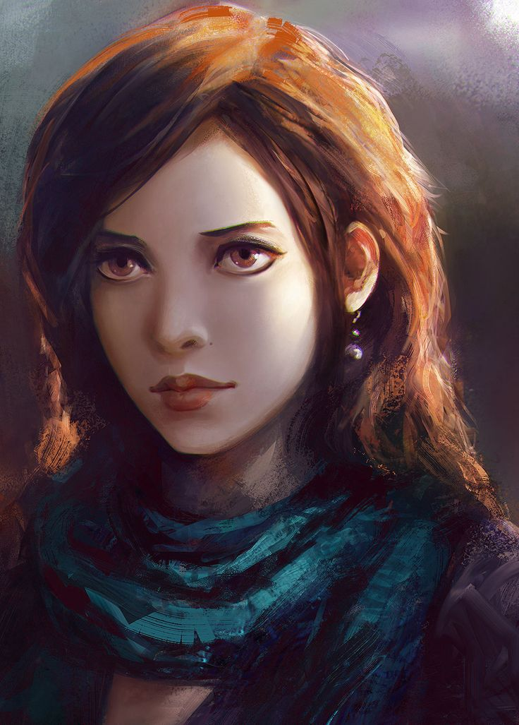 Girl Portrait, Yuan Cui on ArtStation at https://www.artstation.com/artwork/girl-portrait-315d0cdc-5070-4d51-91dd-a524bcda2e40
