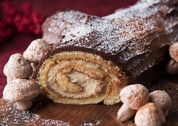 Tiramisu Yule Log: Tiramisu Yule Logs, Christmas Recipes, Mushrooms Recipes, Cakes, Food, Cognac Armagnac Recipes, Sweet Tooth, Yule Logs Recipes, Holidays Desserts